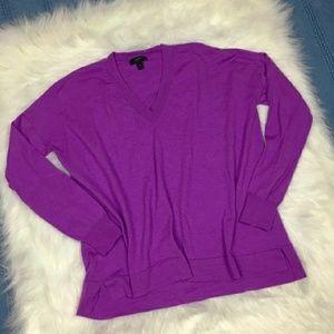 J. Crew Black Label Merino V-Neck Sweater